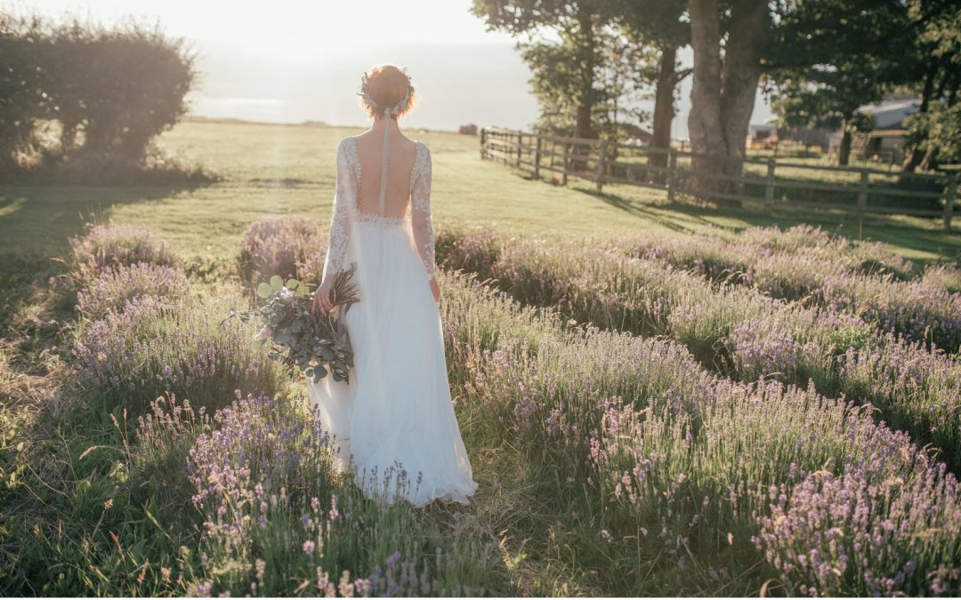 A Midsummer's Day Lavender Luxe Wedding Inspiration