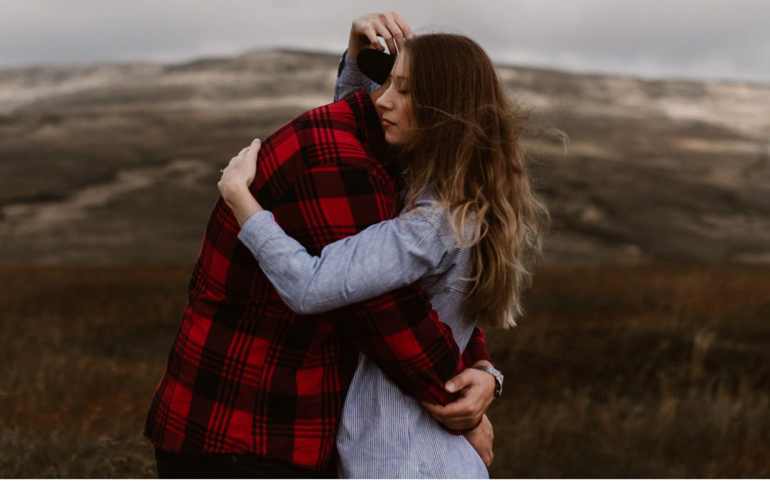 Ross and Bethan – A Misty Moorland Pre-Wedding Shoot
