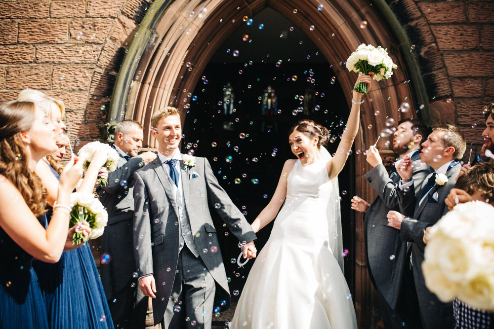 Bubbles And The Bride Groom
