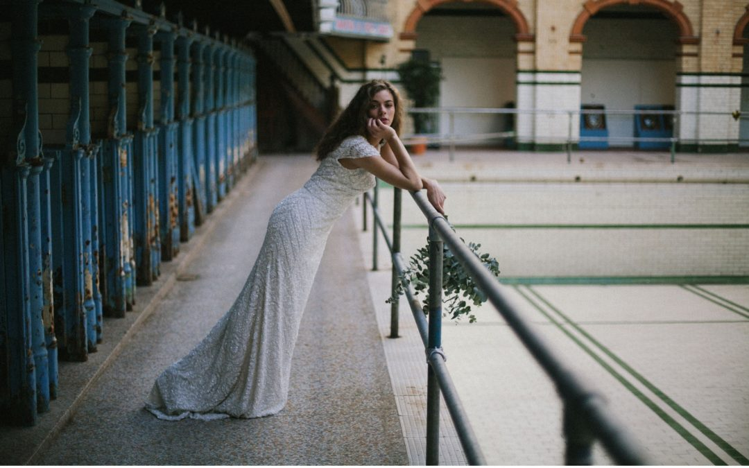 Ethereal, Green and Foliage Inspired Bridal Edit at Victoria Baths