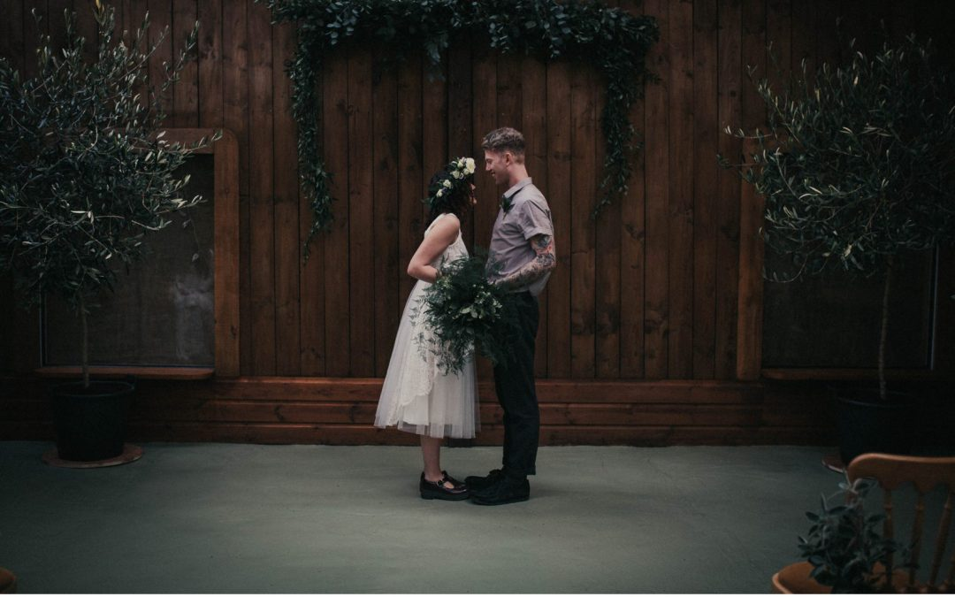 An Atmospheric Vintage Inspired Bridal Shoot at Stanton Gardens by Belle Art Photography