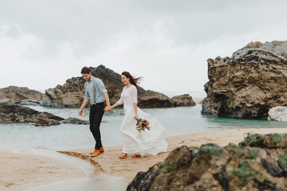 coastal elopement