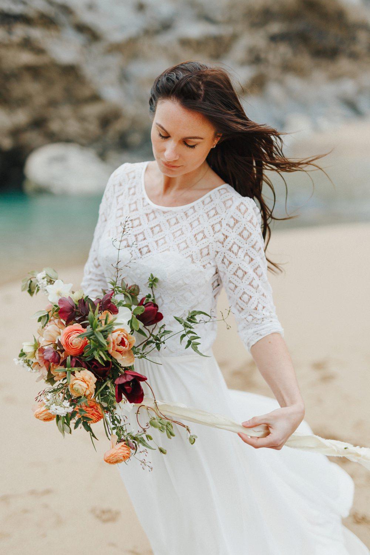coastal elopement