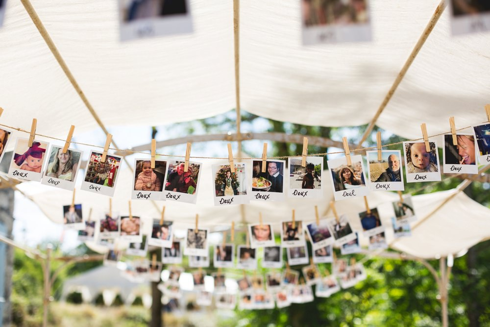 polaroid table plan
