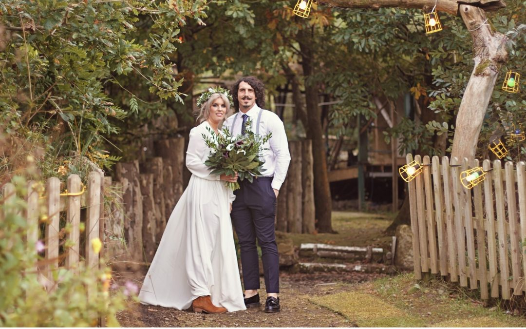 Boho Vibe Houghton Dress for Gorgeously Hippie Wedding