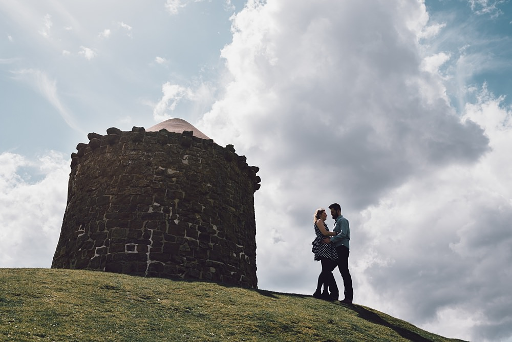 Burton Dassett Engagement shoot