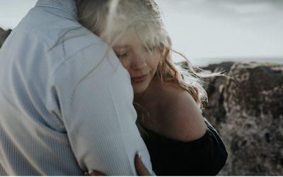 Gently Windswept Fine Art Engagement Shoot by Nesta Lloyd
