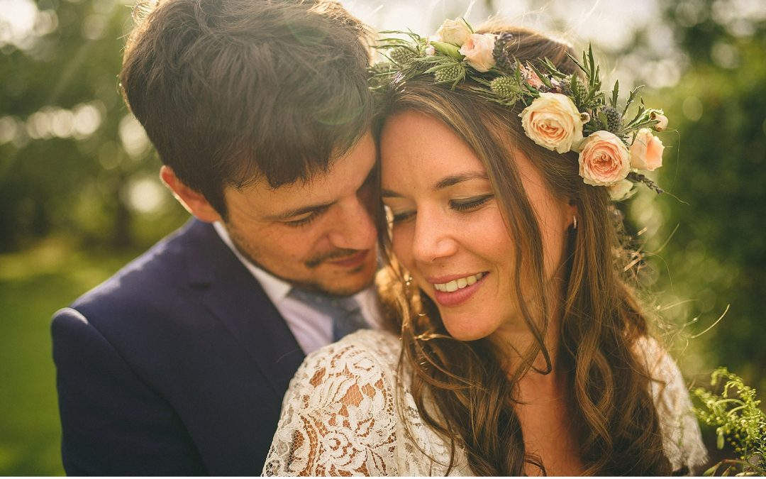 Delicate Charlie Brear Lace for Pretty Woodland Wedding