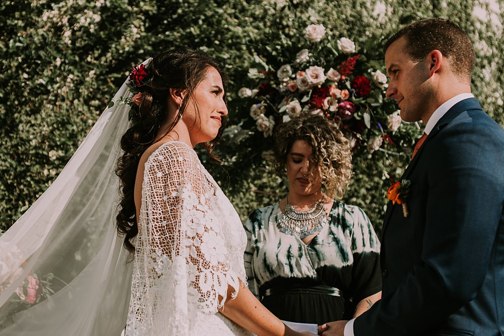 Grace loves Lace for stunning craft brewery wedding