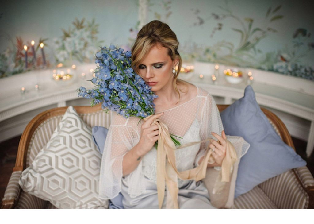Opulent Bridal Shoot at Wasing Park