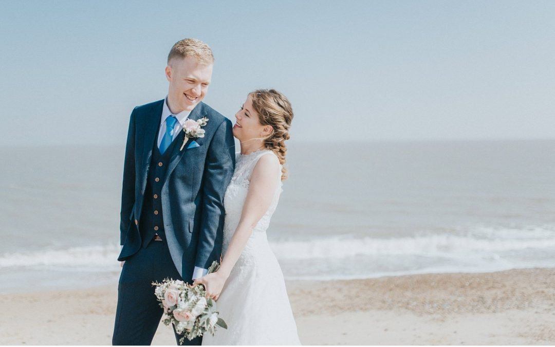 Pretty Pronovias Seaside Spring Wedding by Kate Waters