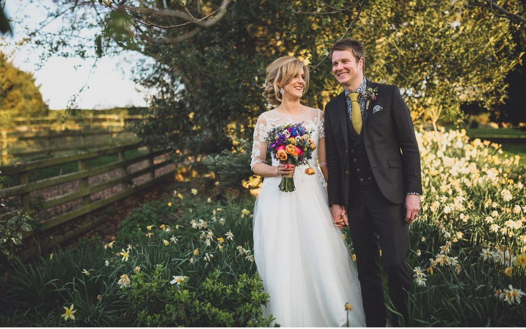 9c687ebb42a6 Rustic, Indie and Colourful Wedding in the Welsh April Sunshine