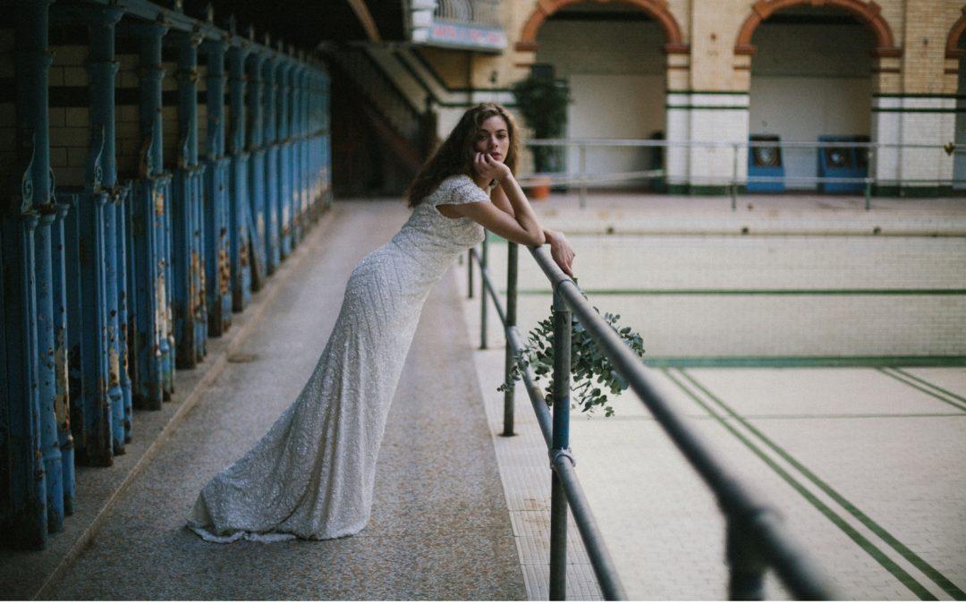 Ethereal, Green and Foliage Inspired Bridal Edit at Victoria Baths