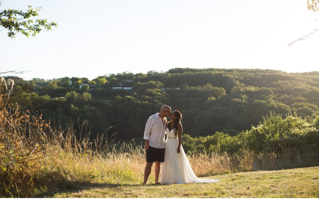Authentically French Secret Farmhouse Venue for a Relaxed Festival Influenced Wedding