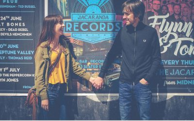 Lil and Dave – A Liverpool Music Scene Engagement Shoot
