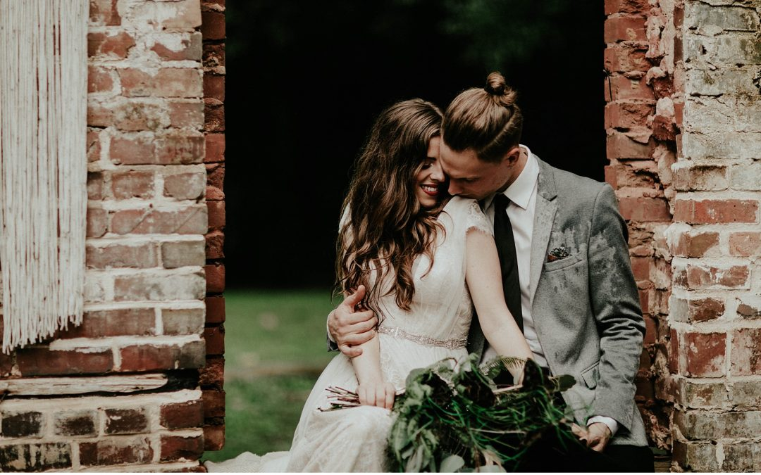 When the Heavens Open – Love in the Rain Wedding Editorial