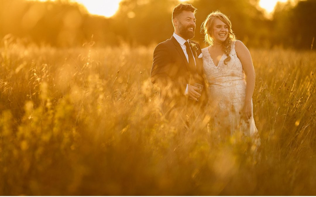 A Totally Divine and Relaxed Late Summer Garden Wedding