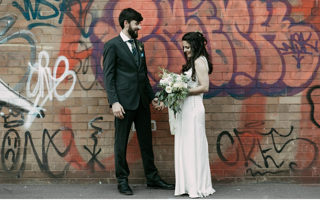 Cool Industrial Sheffield Wedding by Alexandra Cavaye Photography